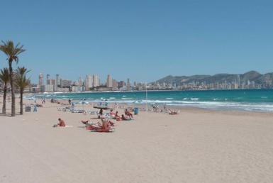 benidorm plyazh playa de poniente